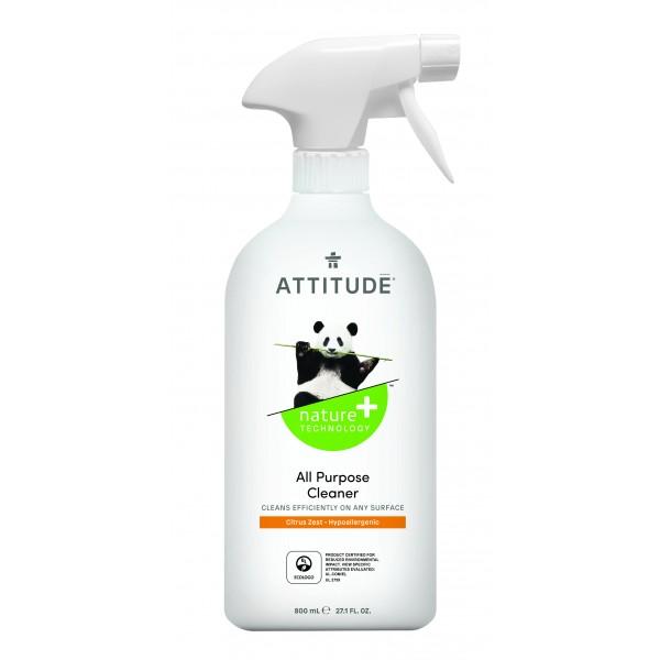 加拿大 ATTITUDE 艾特優_多功能清潔劑-柑橘味 800ml AM10180 (缺貨中)
