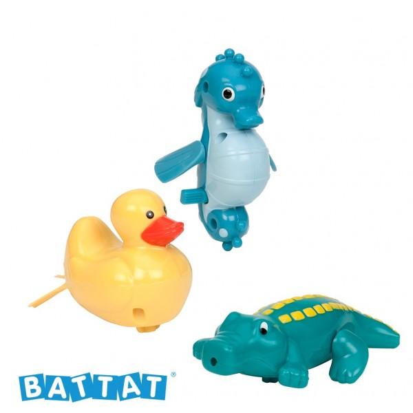 美國【B.Toys】感統玩具 battat系列 打水漂漂_噴射海馬 BT2474(缺貨中)