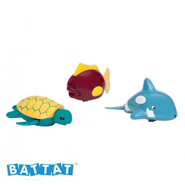 美國【B.Toys】感統玩具 battat系列 打水漂漂_芭蕾海豚 BT2475 (缺貨中)