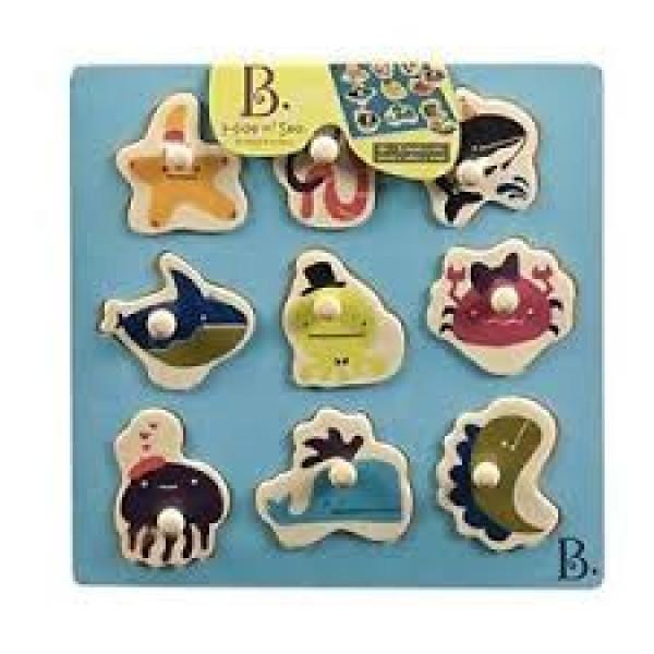 美國【B.Toys】感統玩具 躲貓貓 BX1263Z