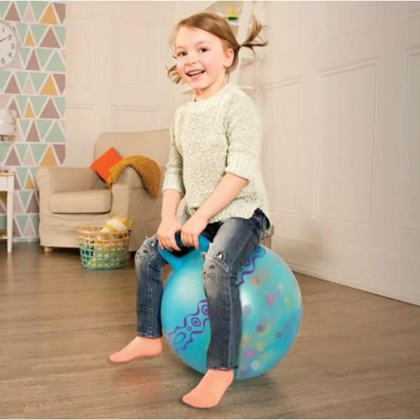 美國【B.Toys】感統玩具 蹦蹦金魚健力球-蘇打(藍) BX1511Z (缺貨中)