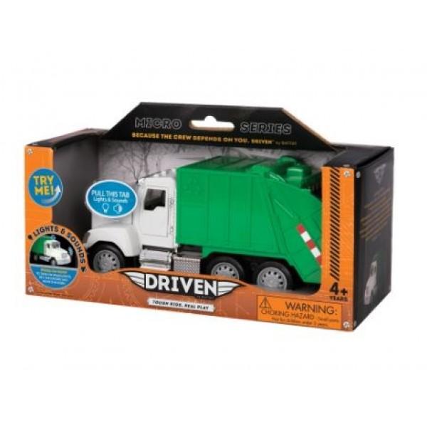 美國【B.Toys】感統玩具 battat-Driven系列 小型回收卡車 Mini Recycling Truck  WH1010Z