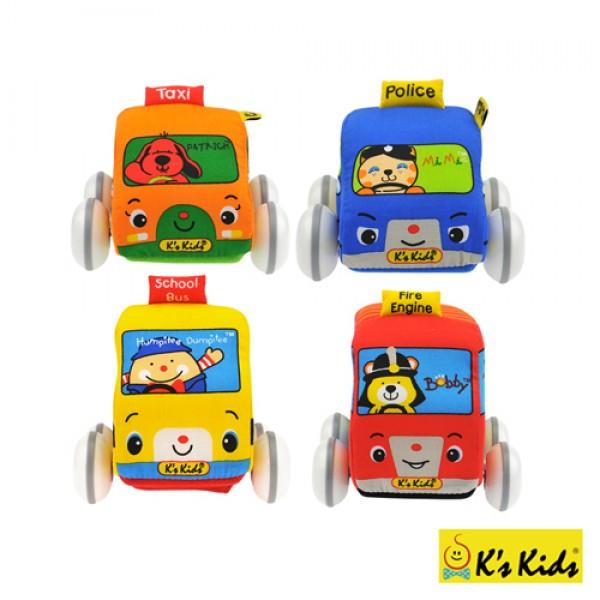 趣味迴力車組 K's Kids Pull-Back Autos SB002-01
