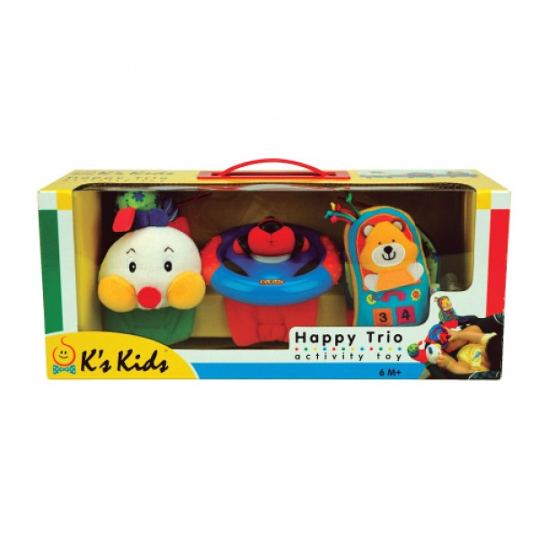 歡樂三重組 K's Kids Happy Trio SB002-04