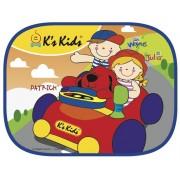 可愛汽車側窗遮陽板 K's Kids Side Window Sunshade SB002-11
