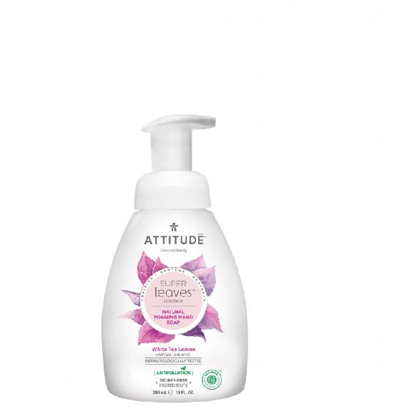 加拿大 ATTITUDE 艾特優_Super Leaves™泡沫洗手乳-白茶葉 295ml  AL14087 缺貨中