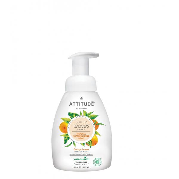 加拿大 ATTITUDE 艾特優_Super Leaves™泡沫洗手乳-橙葉 295ml  AL14088