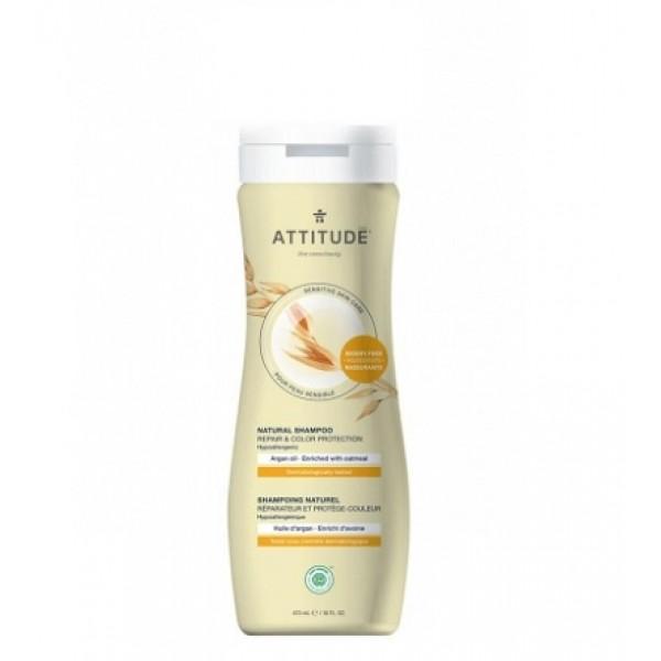 加拿大 ATTITUDE 艾特優_天然修護護色洗髮精  473ml  **成人適用** A60102