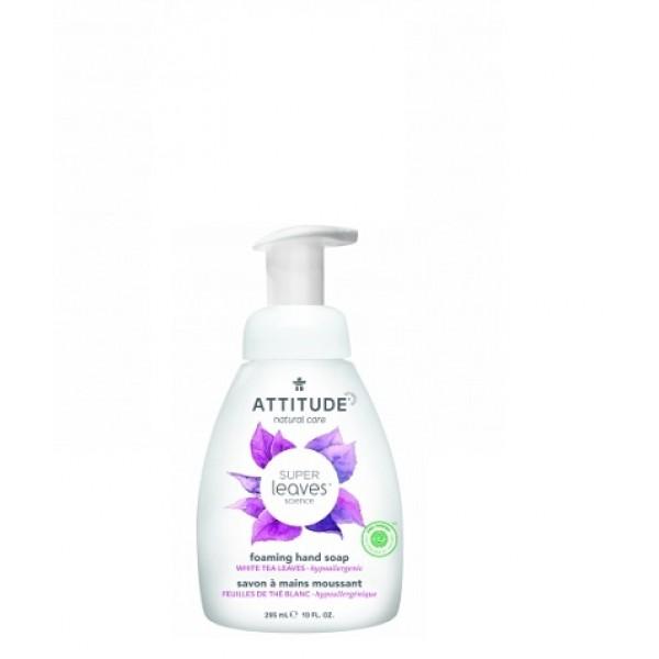 加拿大 ATTITUDE 艾特優_Super Leaves™泡沫洗手乳-白茶葉 295ml  AL14087