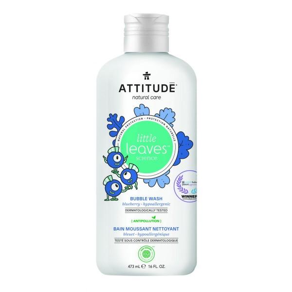 加拿大 ATTITUDE 艾特優_兒童泡泡浴-藍莓 AL18316 (效期:2021/10/25)